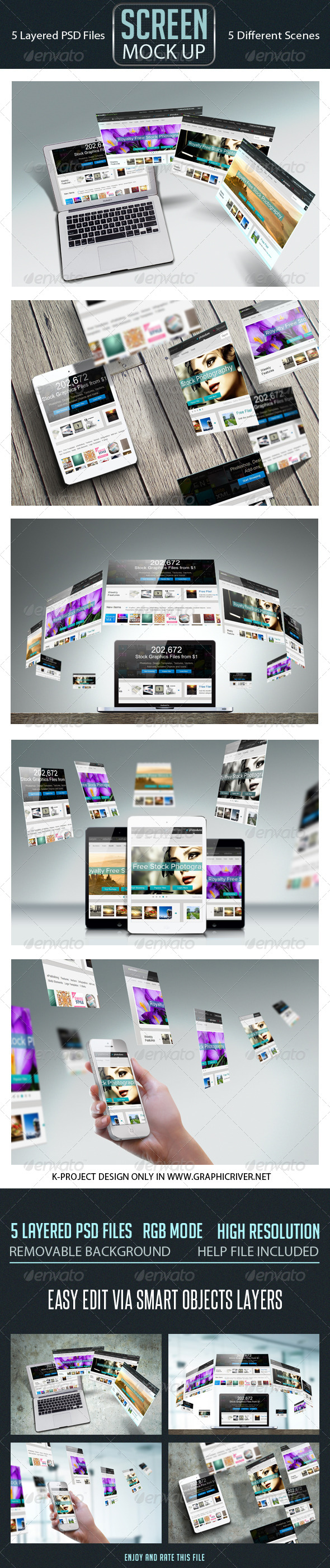 GraphicRiver Screen Mock Up 6799914