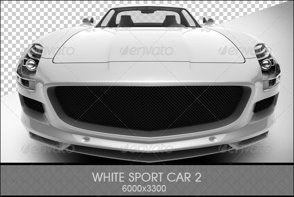 GraphicRiver White Sport Car 2 6803083
