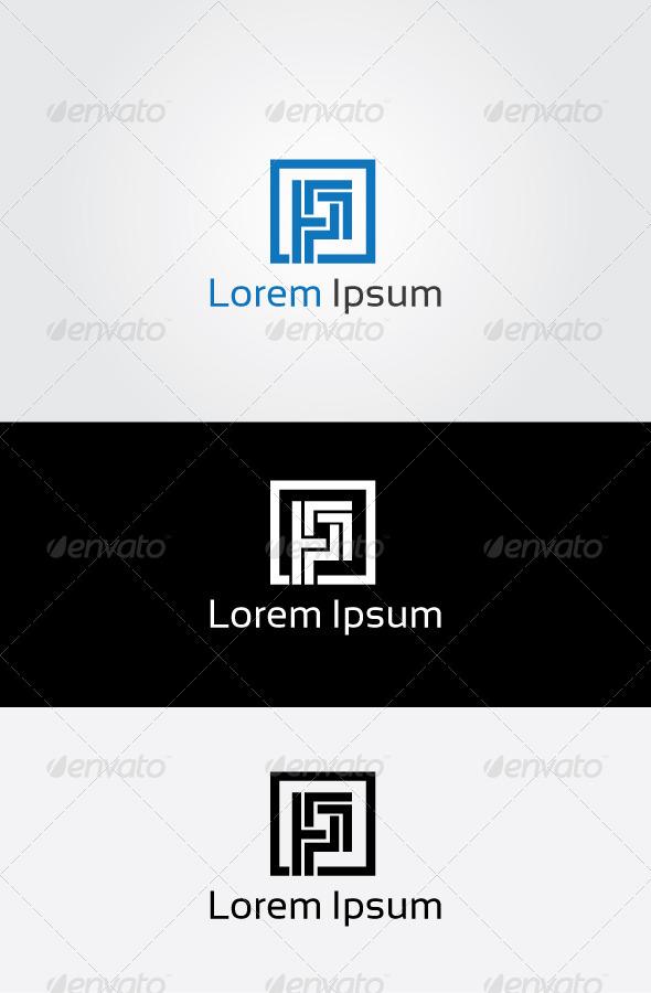 GraphicRiver P Letter Box Logo 6803099