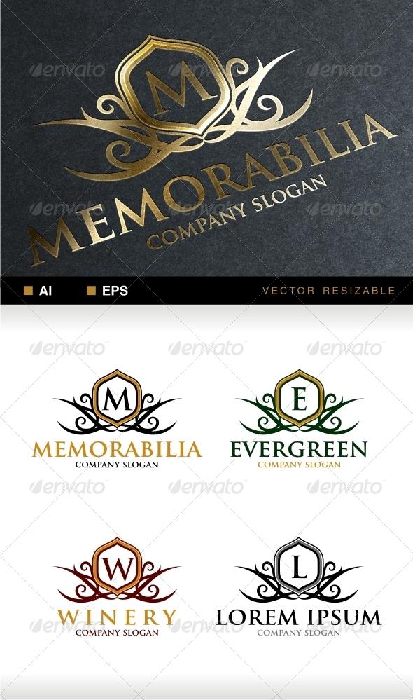 GraphicRiver Memorabilia Crest Logo 6803409