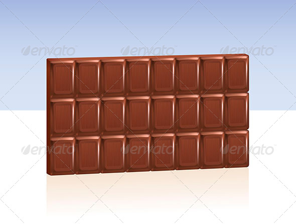 GraphicRiver Bar of Chocolate 6803844
