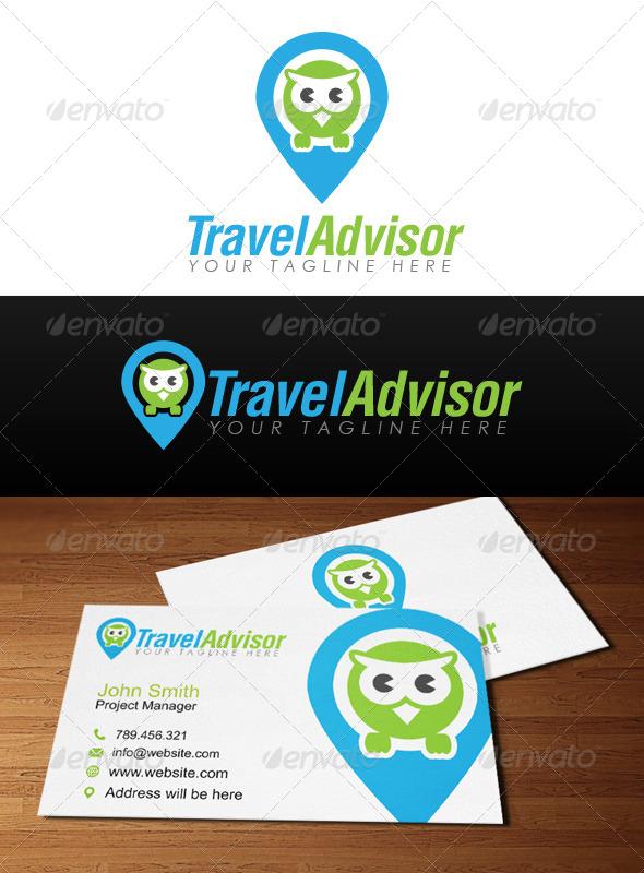 GraphicRiver Travel Advisor Logo 6800495