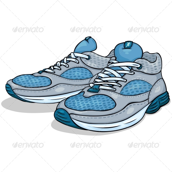 GraphicRiver Running Shoes 6803892
