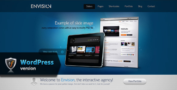ThemeForest Envision Business WordPress Theme 6803921