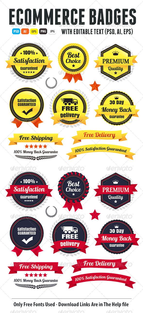GraphicRiver Premium Quality Ecommerce Badges 6803966