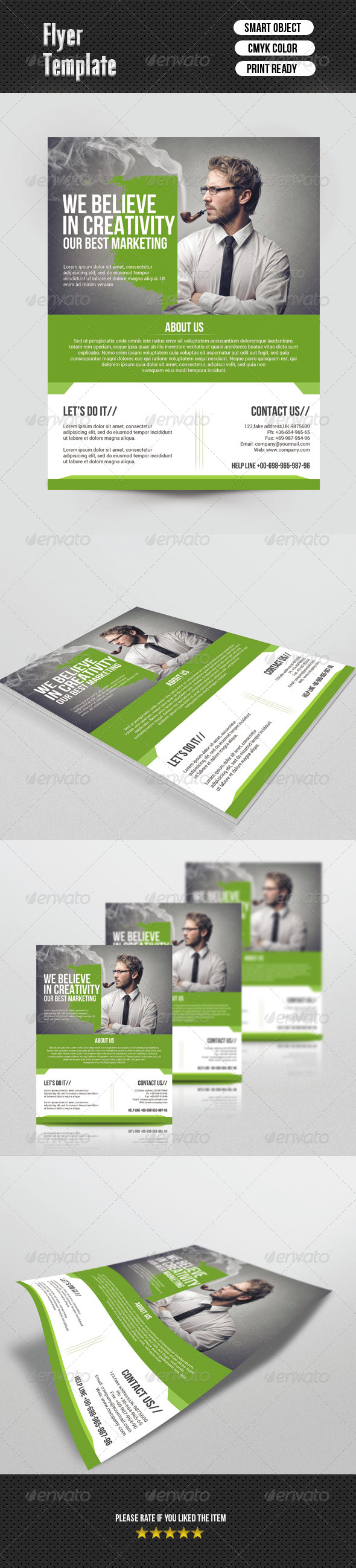 GraphicRiver Business Flyer Template 6804364