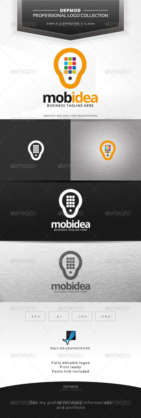 GraphicRiver Mobidea Logo 6804489