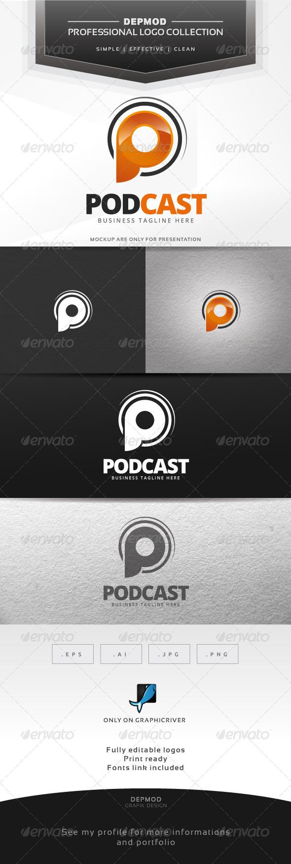 GraphicRiver Podcast Logo 6804851
