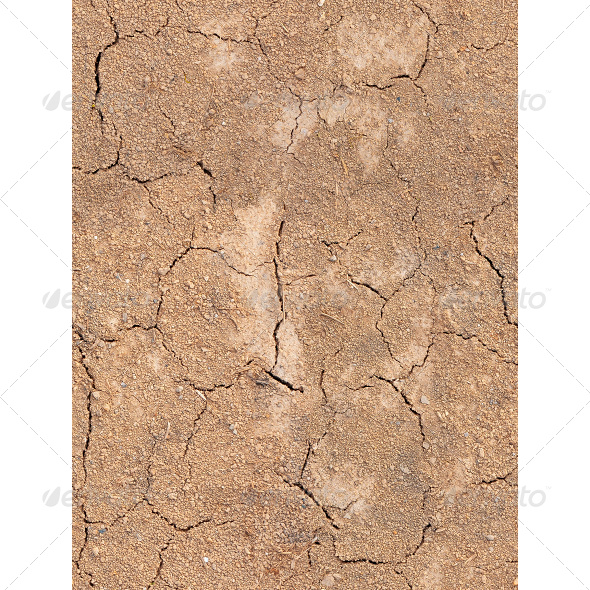 Tileable Fissured Soil Texture