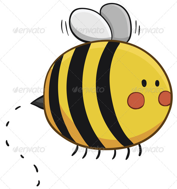 GraphicRiver Bee Flying 6805294