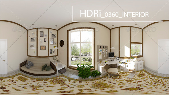 0360_Interoir_HDR - 3DOcean Item for Sale