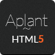 Aplant Responsive HTML5 Landing Page - ThemeForest Item for Sale