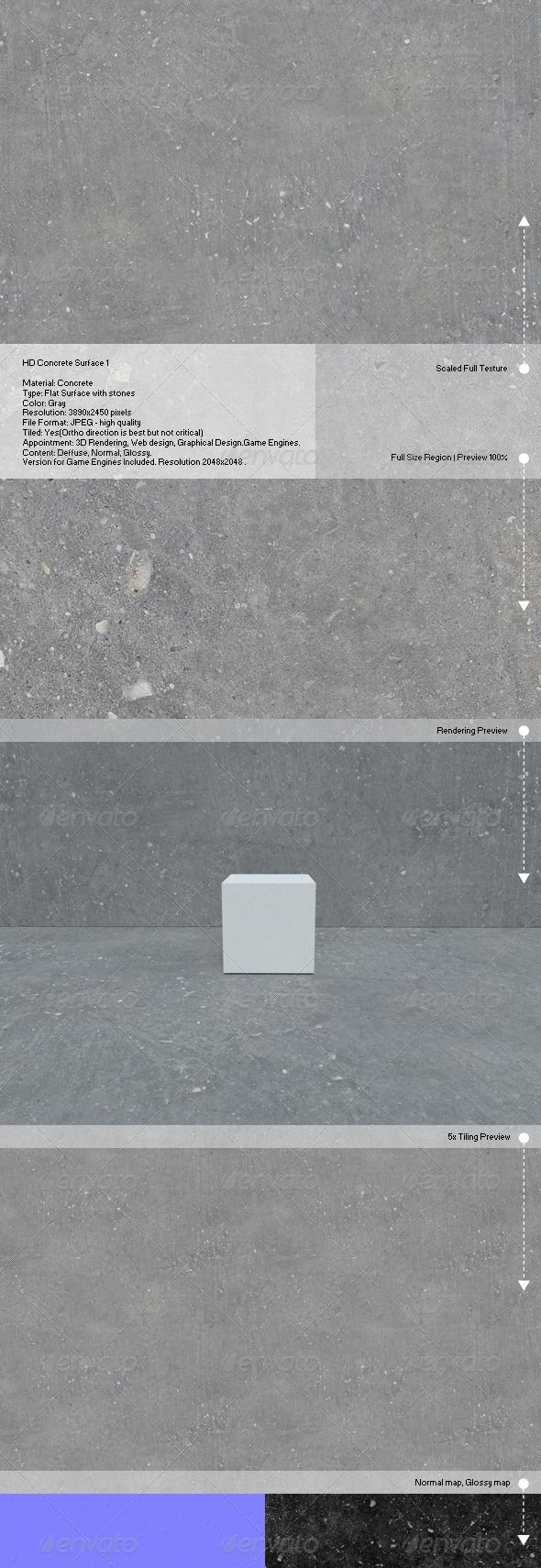 3DOcean HD Concrete Surface 1 6786554