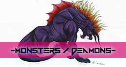 Games & Cartoons - Monsters & Deamons