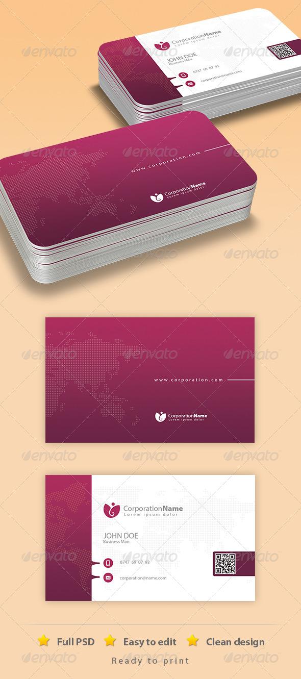 GraphicRiver Corporate Business Card Design 6799999