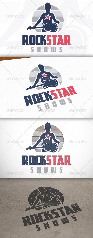 GraphicRiver Rockstar Logo 6805790