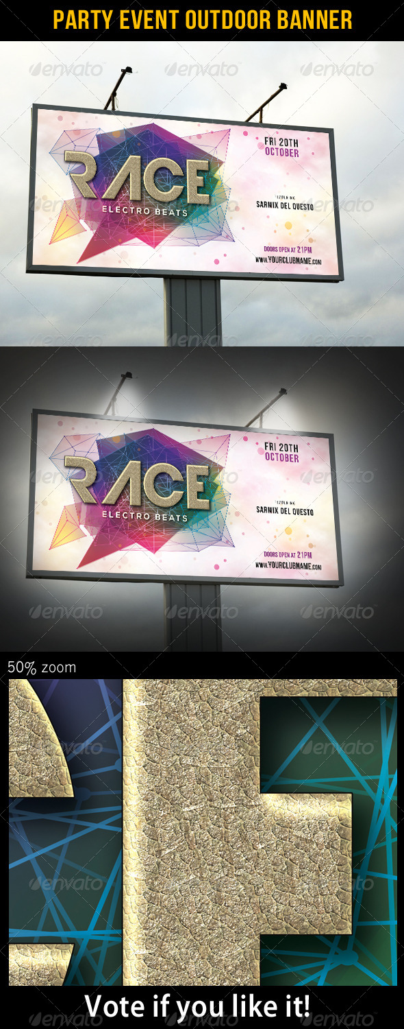 GraphicRiver Party Event Outdoor Banner 02 6807039
