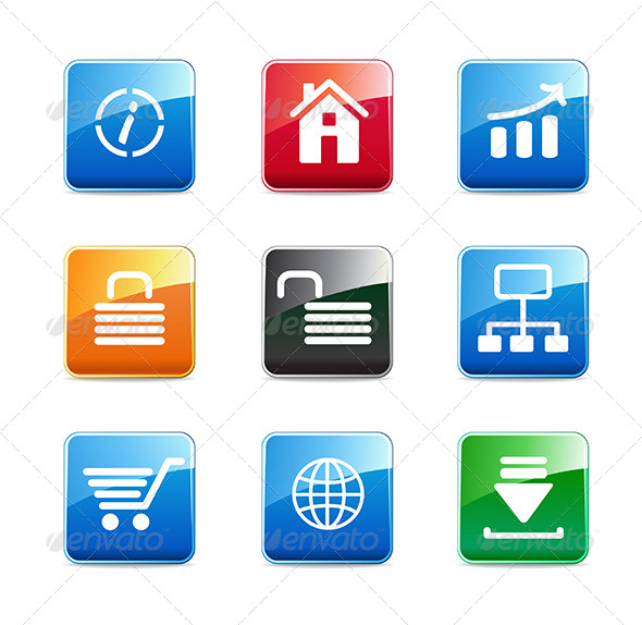 GraphicRiver WWW Icons 6807244