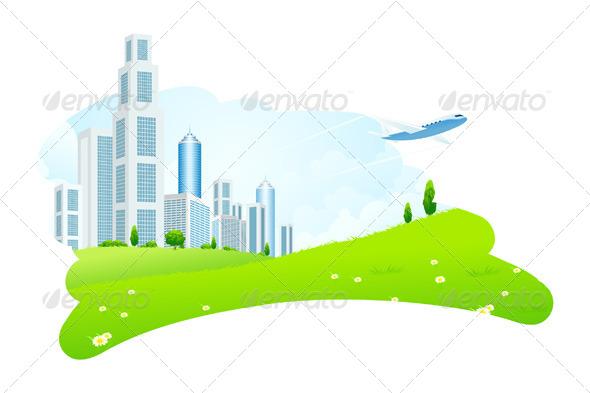 GraphicRiver Business City 6807265
