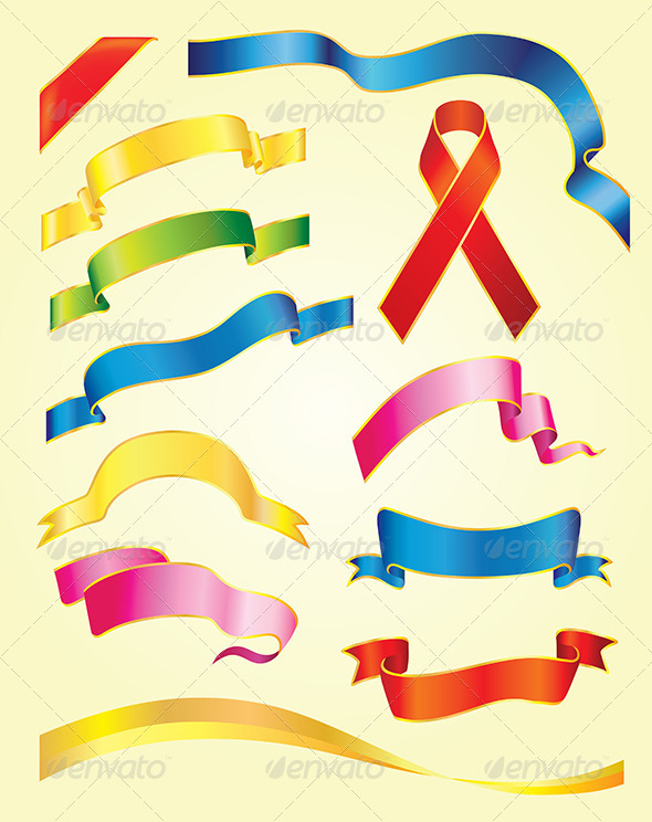 GraphicRiver Ribbons 6807313