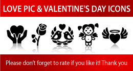 LOVE PIC & VALENTINE'S DAY ICONS