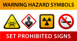 Symbols - Hazard warnings