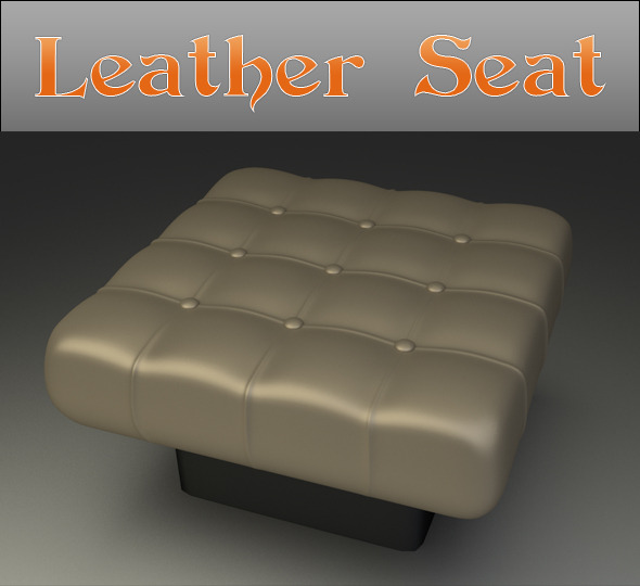 3DOcean Leather Seat 6807900