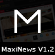 MaxiNews - Premium Review Magazine Theme - ThemeForest Item for Sale
