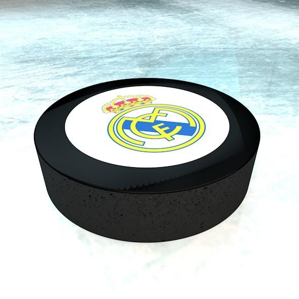 3DOcean Hockey Puck 6808415
