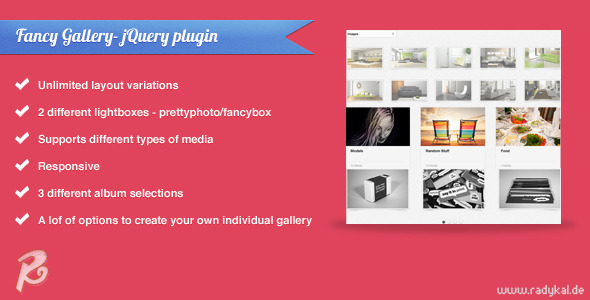 Fancy Gallery jQuery plugin
