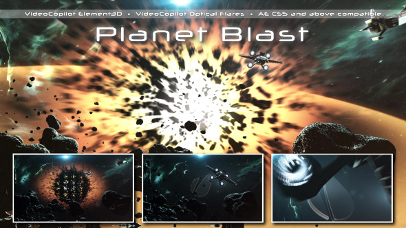 Planet blast by starfaii videohive for Space blast 3d