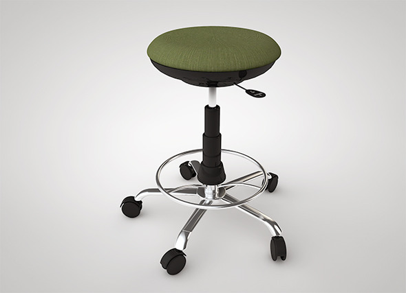3DOcean Bar Stool 6808602
