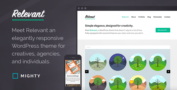 Relevant WordPress Theme