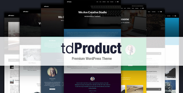 ThemeForest tdProduct Responsive Multi-Purpose Theme 6809081