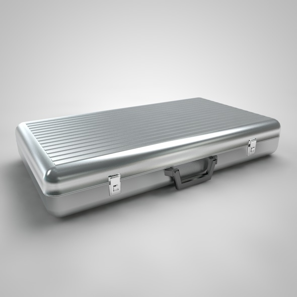 Metal Briefcase - Type 2 - 3DOcean Item for Sale