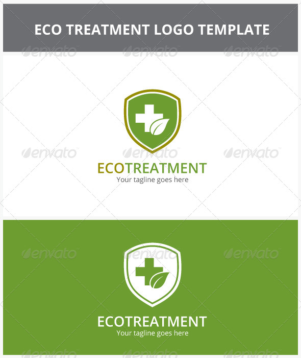 GraphicRiver Eco Treatment Logo 6809566