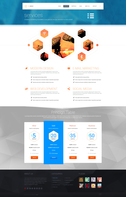 CGMAX - Creative PSD Template