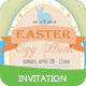 Easter Egg Hunt Invitation - GraphicRiver Item for Sale