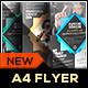Multipurpose Corporate Flyer Template - Origami - GraphicRiver Item for Sale
