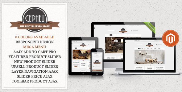 01 preview.  large preview - Cepheu - Responsive Magento Theme