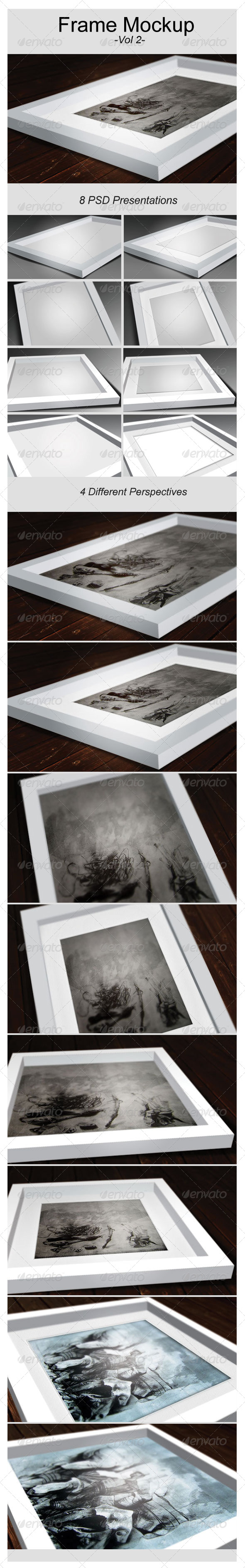 GraphicRiver Artwork Frame Mock-Up Vol.2 6811414