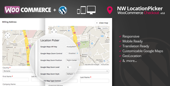 WooCommerce Checkout Location Picker - CodeCanyon Item for Sale