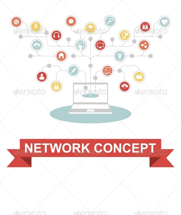 GraphicRiver Network Concept 6812453