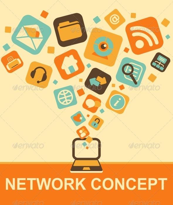 GraphicRiver Network Concept 6812589