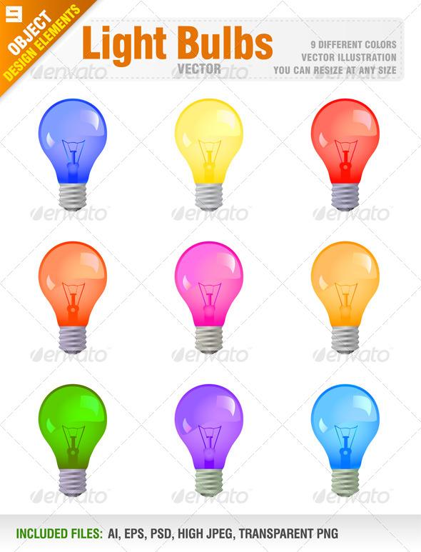 GraphicRiver Light Bulbs 6812799