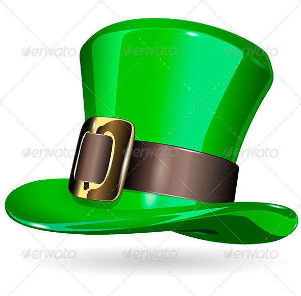 GraphicRiver St Patrick s Hat 6812895