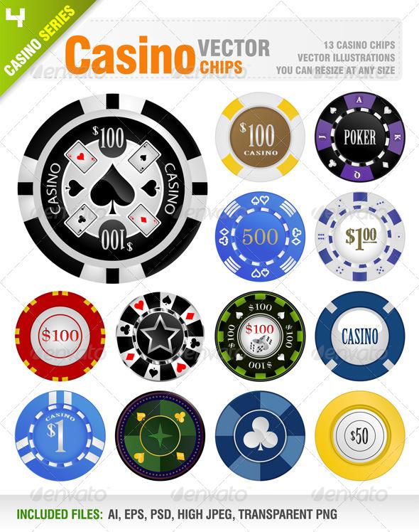 GraphicRiver Casino Chips 6812901