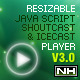 PHP-Javascript Shoutcast and Icecast V3.0  (Images and Media) Download