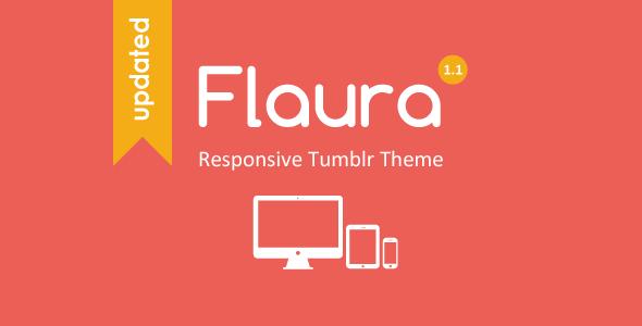 Flaura - Responsive Tumblr Theme