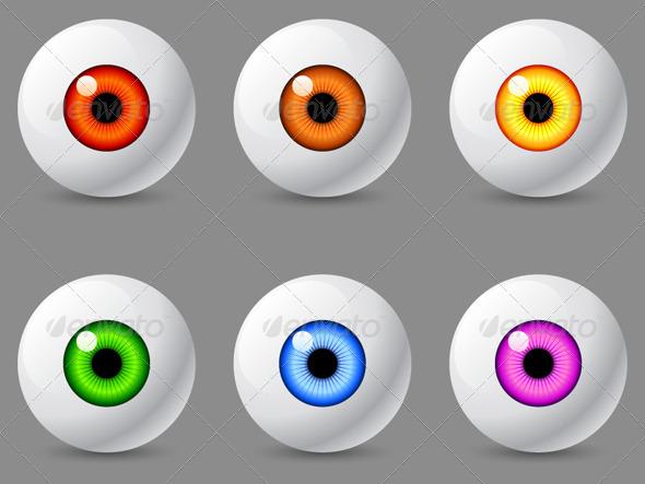 GraphicRiver Human Eyeballs 6806605